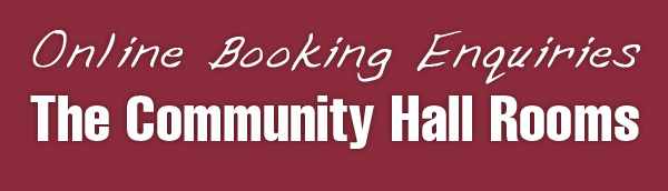 Book the Community Hall Rooms